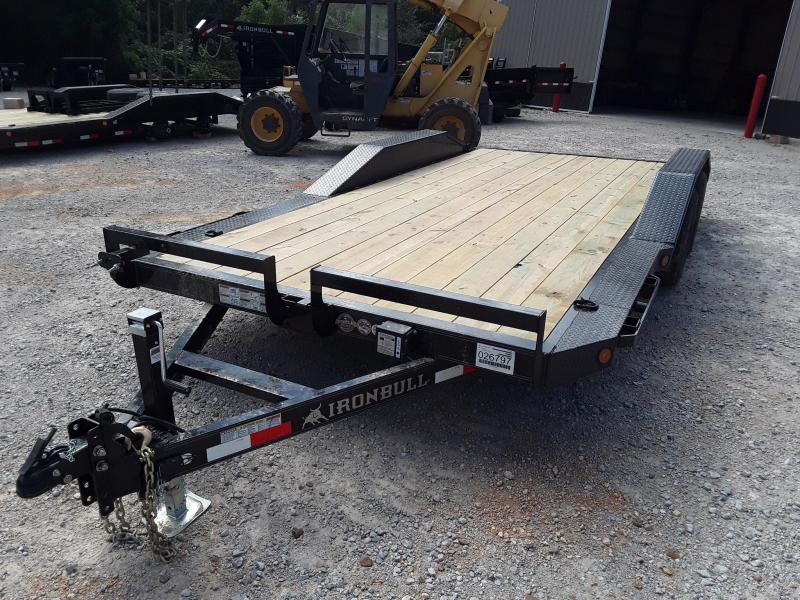 "2019 Iron Bull 102"" X 18' Equipment Trailer W/ Slide out Ramps"