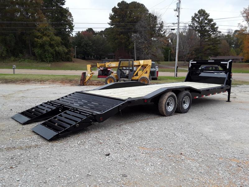 """2019 Iron Bull  Equipment Trailer 102"""" X 26' W 2 7k Axles and Rampage Ramps"""