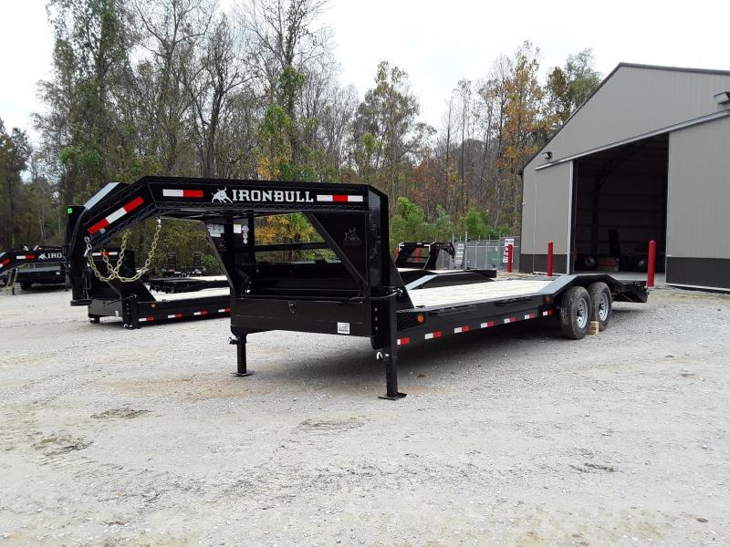 "2019 Iron Bull  Equipment Trailer 102"" X 26' W 2 7k Axles and Rampage Ramps"