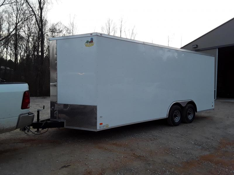 2018 Covered Wagon Trailers 8.5' X20' TA Gold Enclosed Cargo Trailer