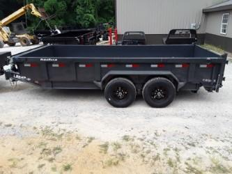 2018 Lamar Trailers 83 X 16 LOW-PRO DUMP 14K Dump Trailer