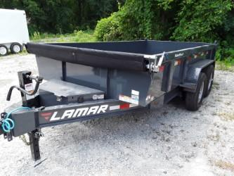 2019 Lamar Trailers 83 X 16' LOW-PRO DUMP 14K Dump Trailer