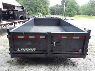 2019 Lamar Trailers 83 X 16' LOW-PRO DUMP 14K Dump Trailer