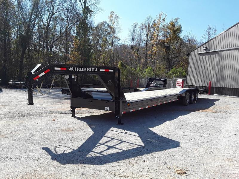 "2019 102""x36' Iron Bull Gooseneck Equipment Trailer"