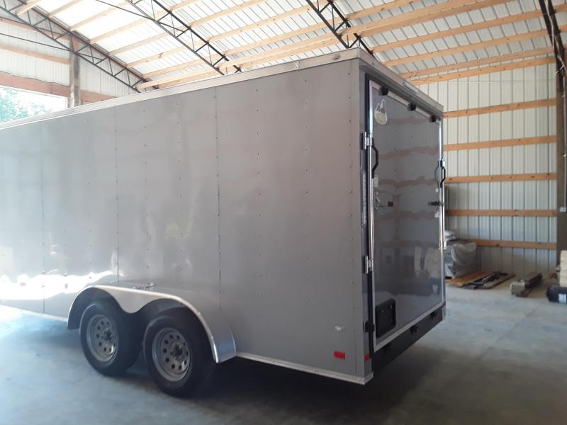 2019 Covered Wagon Trailers 7 X 16   2 3500 lb axles Enclosed Cargo Trailer