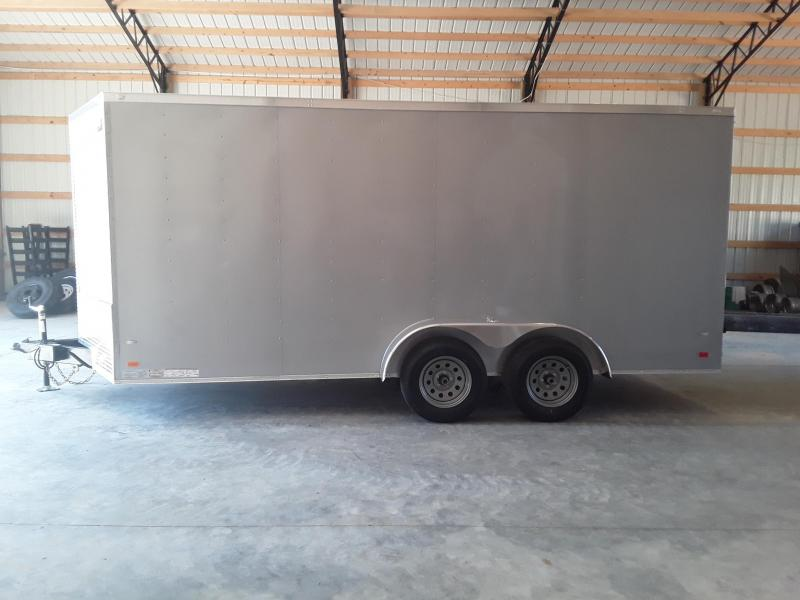 2019 Covered Wagon Trailers 7' X 16'   W/2 3500 lb axles Enclosed Cargo Trailer
