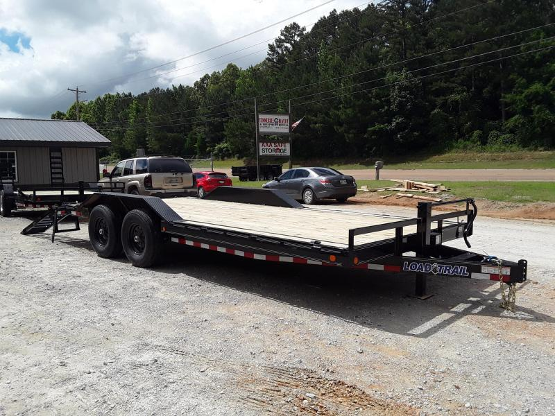 """2019 Load Trail 102 """" X 20' Equipment Trailer With 2 7000 Lb Axles and drive over fenders"""