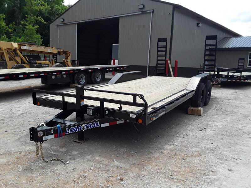 "2019 Load Trail 102 "" X 20' Equipment Trailer With 2 7000 Lb Axles and drive over fenders in Dyess, AR"
