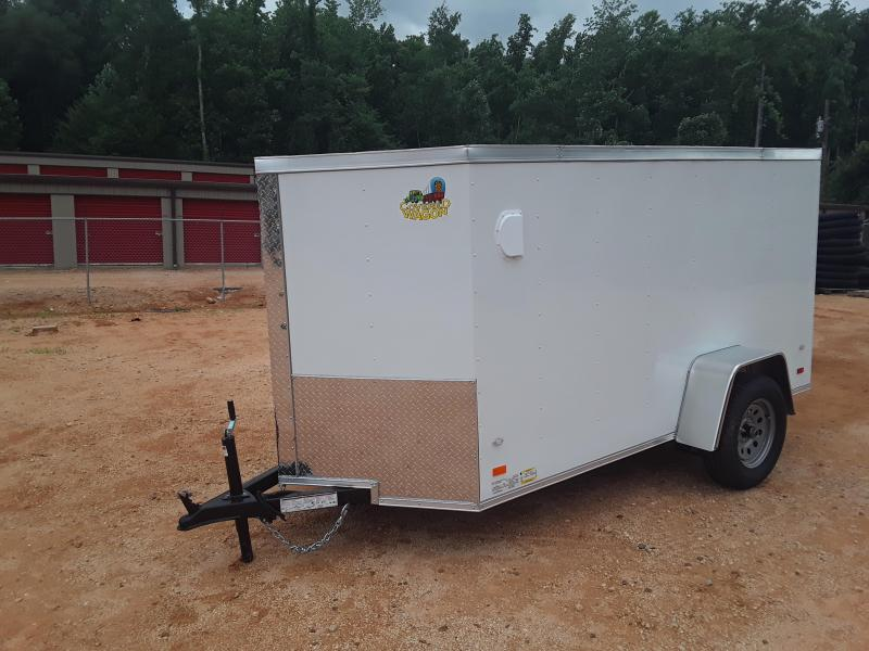 2019 Covered Wagon 5' X 10' Enclosed Cargo Trailer