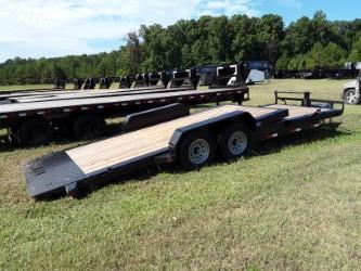 "2018 Iron Bull TILT EQUIPMENT LOW PRO 83"" x 22' W/ 2-7000 LB AXLES"
