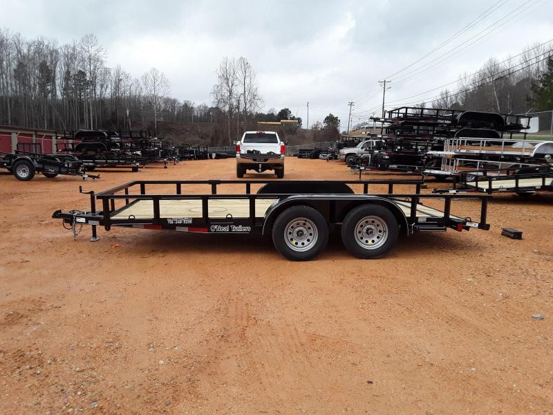"2019 O Neal UT 6'10"" X 16'  Utility Trailer W Brakes on one axle"