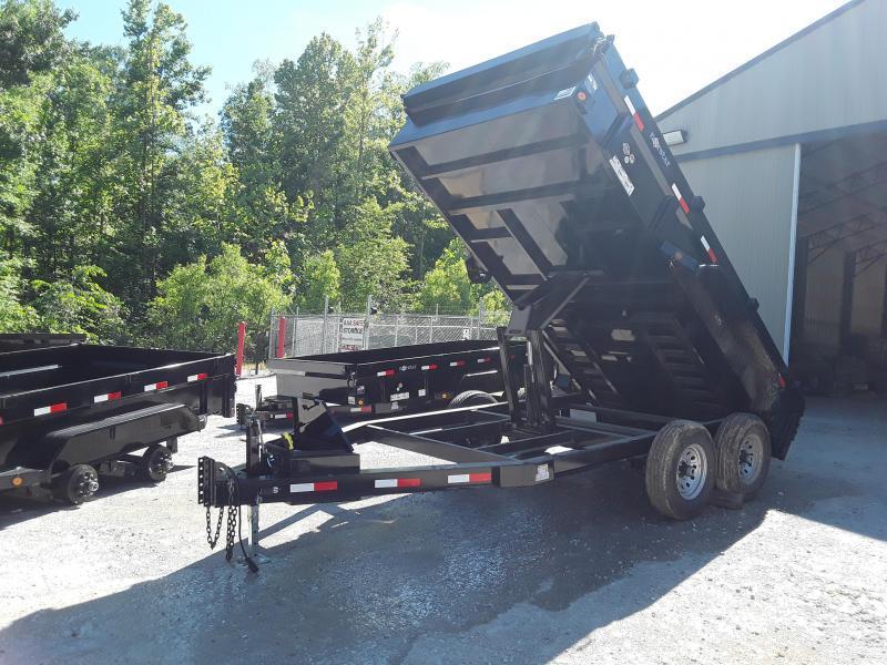 "2019 Norstar 83"" X 14' Dump Trailer W 2 7000 Lb Axles"