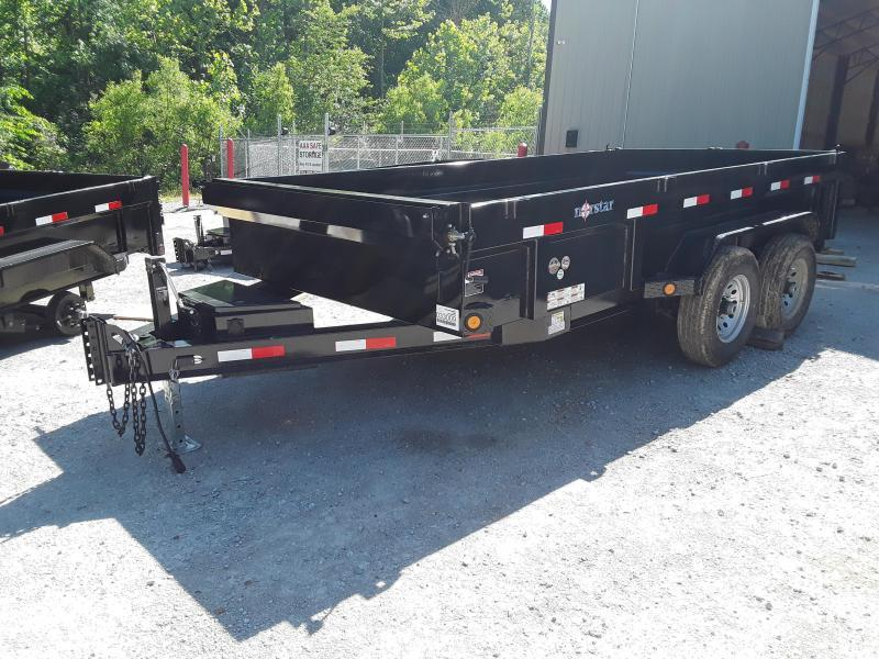 "2019 Norstar 83"" X 14' Dump Trailer W 2 7000 Lb Axles in Ashburn, VA"