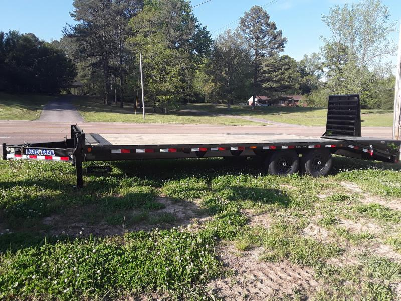 "2018 Load Trail 24' x 102"" W 5' Self Clean Dove W/Max Ramps  in Sherman, MS"