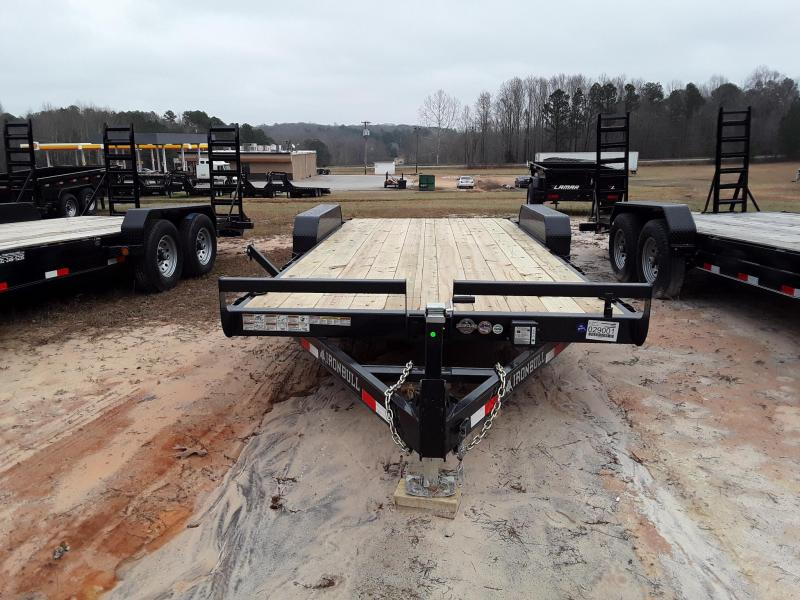 "Iron Bull EQUIPMENT HAULER 83"" X 20' 2-5200LB AXLES"