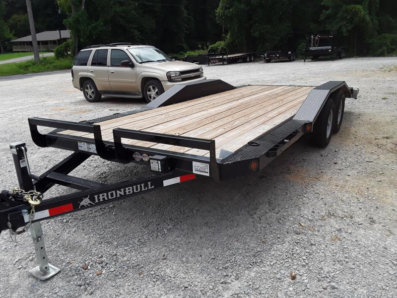 "2018 102"" X 18' Iron Bull Equipment Trailer W/ 2 5200 Lb Axles in Sherman, MS"