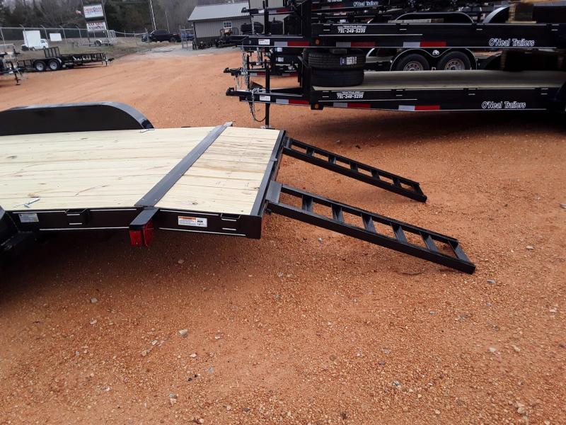 """2019 O Neal 6'10"""" X 18' Utility Trailer W Brakes on one axle"""