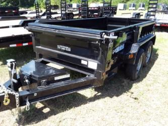 "2018 Iron Bull 60"" x 10' Dump Trailer 2-3500 lb Axles  in Brownwood, MO"