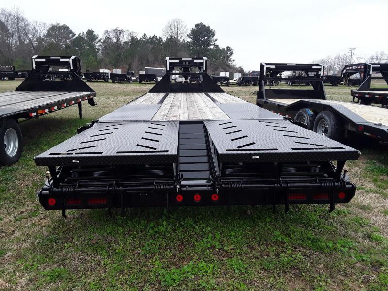 "2018 Iron Bull 102"" X 25' Gooseneck W 2 10000 lb Axles"
