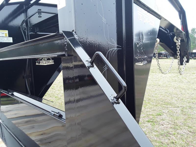 "2018 Iron Bull 102"" X 25 Low Pro Flatbed Trailer W/ 2 10000 lb Axles"