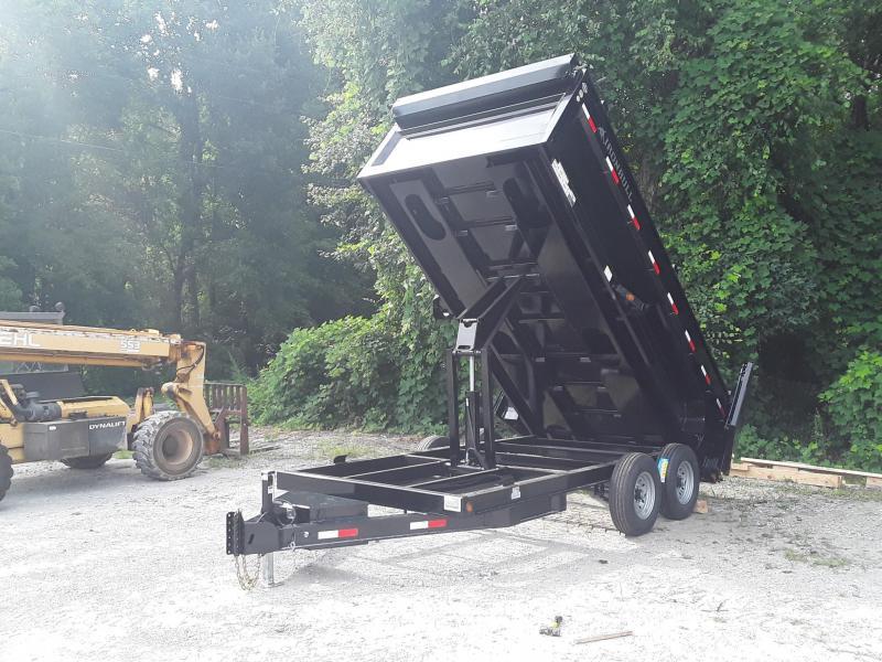 "2020 Iron Bull 83"" X16' Dump Trailer"