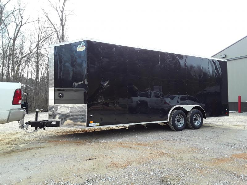 2019 Covered Wagon Trailers 8.5X20TA-Gold Enclosed Cargo Trailer