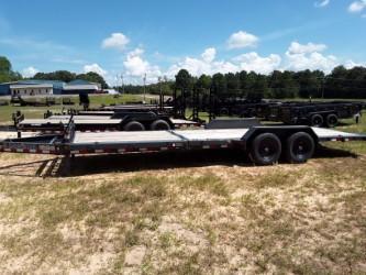 "2018 Load Trail 83"" X 24' Tilt-n-go Tandem Axle Equipment Trailer"