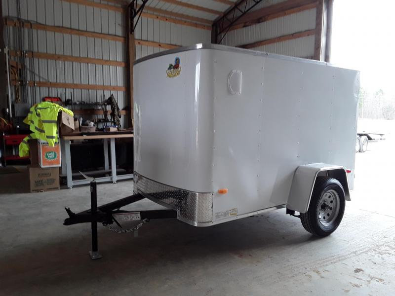 2019 Covered Wagon Trailers S-5'X8' SA Enclosed Cargo Trailer