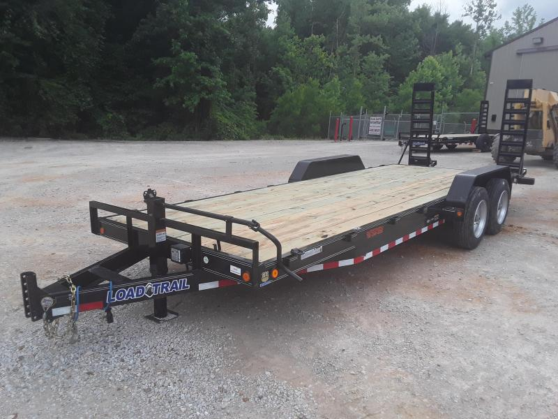 "2019 Load Trail 83"" X 22'  Equipment Trailer W 2 8000 Lb Axles and Custom Solid Steel Wheels in Dyess, AR"