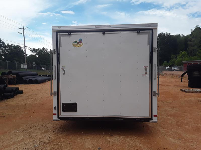 """2018 Covered Wagon Trailers 8.5 X 20 W/ 2 5200 lb axles  + 6"""" Extra Height"""