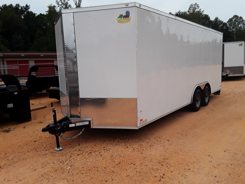 "2018 Covered Wagon Trailers 8.5 X 20 W/ 2 5200 lb axles  + 6"" Extra Height"