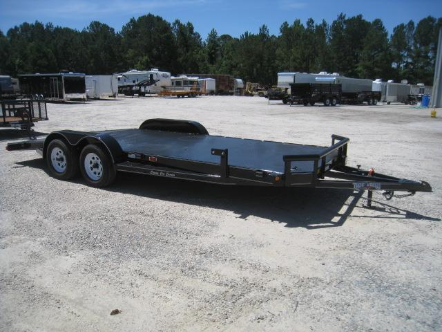 2019 Texas Bragg Trailers 20' Classic Car Carrier with Full Metal Deck Car / Racing Trailer