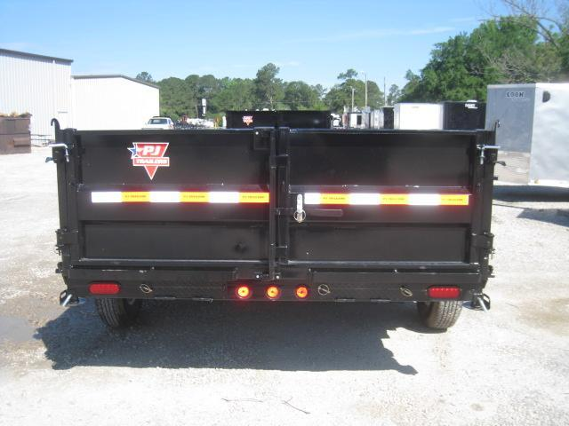 "2019 PJ Trailers D7 14'x83""  Dump Trailer with Tarp Kit"