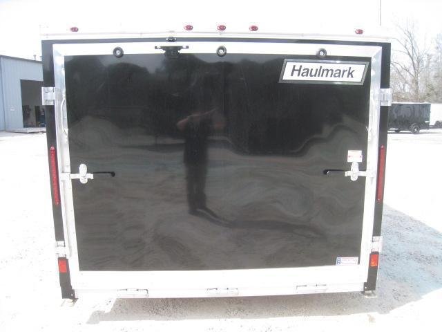 2019 Haulmark 7.5 X 12 Aluminum Low Hauler Motorcycle Trailer Loaded