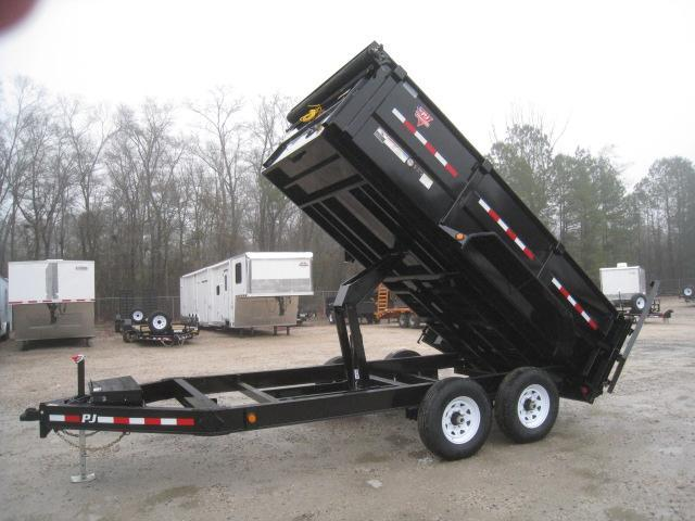 "2019 PJ Trailers DM 14' X 83"" 36""  High Side Dump Trailer"