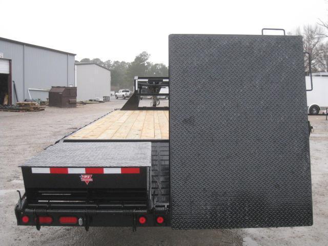 2019 PJ Trailers FD 30' Gooseneck Dual Tandem Deckover Equipment Trailer