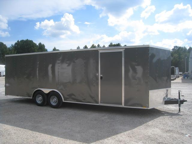 2019 Cargo Express Element  8.5X24 Vnose Race/Auto Trailer with 5200lb Axles