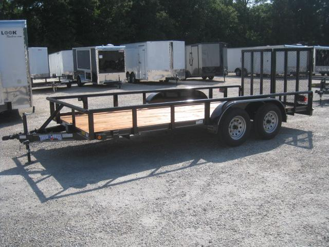 2018 Texas Bragg Trailers 16P Heavy Duty Utility Trailer