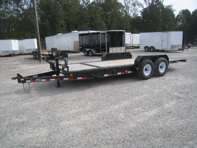 2019 PJ Trailers TJ 16 + 4 Tilt Bed Equipment Trailer