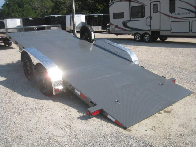 2019 PJ Trailers TH 18' Power Tilt Car / Racing Trailer