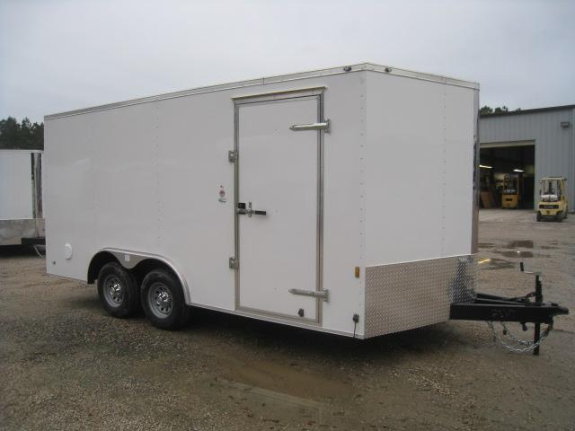 2019 Continental Cargo Sunshine 8.5 x 16 Enclosed Cargo Trailer with 5200LB Axles