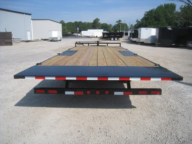 2019 PJ Trailers T8 22' Deckover Power Tilt Equipment Trailer