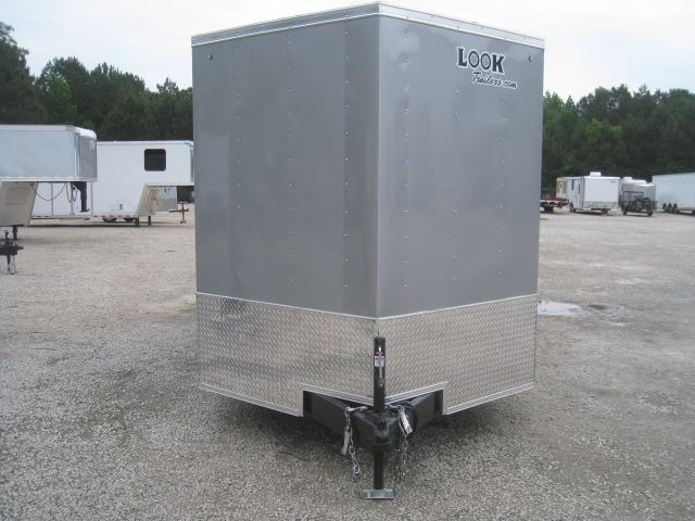 2019 Look Trailers Element 7x16 Vnose Enclosed Cargo Trailer