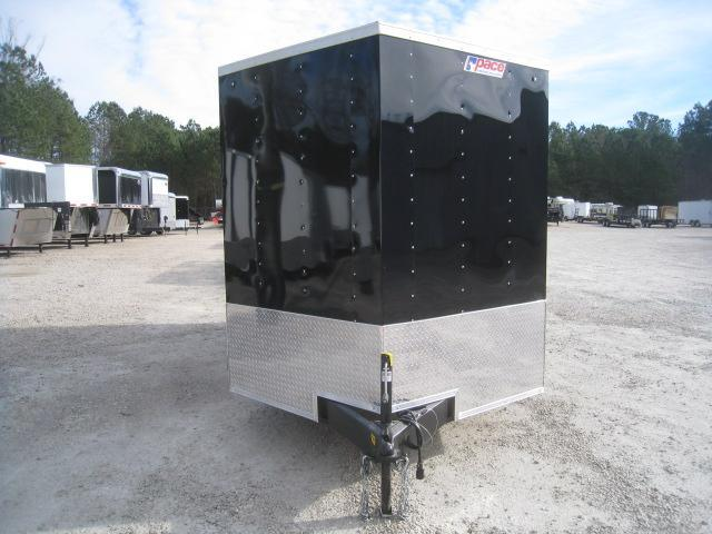 2019 Pace American Journey 7 x 14 Vnose Enclosed Cargo Trailer with Ramp Door