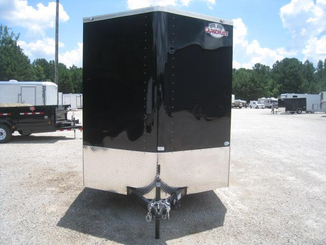 "2019 Continental Cargo Sunshine 7x14 Vnose Enclosed Cargo Trailer with 12"" Extra Height"