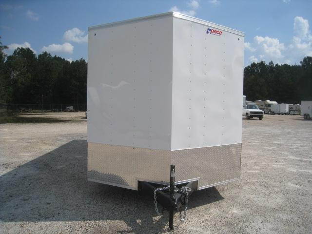 """2019 Pace American Journey 8.5x24 with 7'6"""" Inside Height Car / Racing Trailer"""