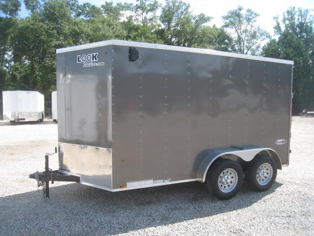 2019 Look Trailers Element 6x12 Vnose Tandem Axle Enclosed Cargo Trailer
