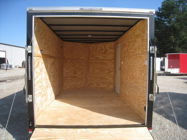 2020 Lark 7 X 12 Vnose Tandem Axle Enclosed Cargo Trailer