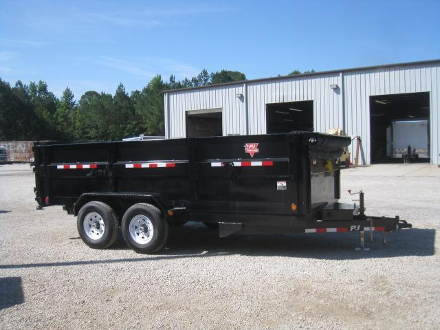 """2019 PJ Trailers DC 16'X83"""" Dump Trailer with 36"""" High Sides"""