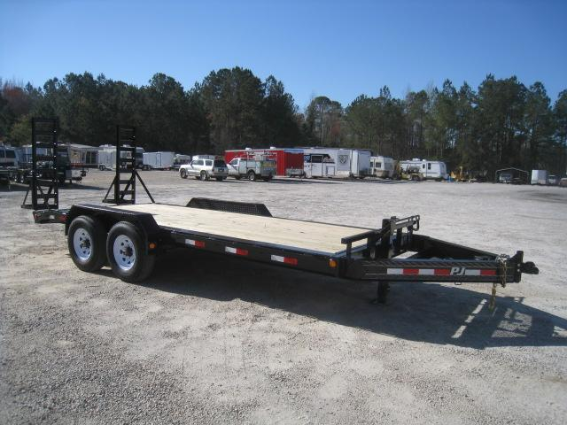 2020 PJ Trailers H4 Pro Beam 18' Equipment Trailer with 8K